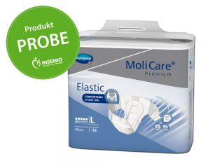 Molicare Premium Elastic 6 Tropfen Probe Muster