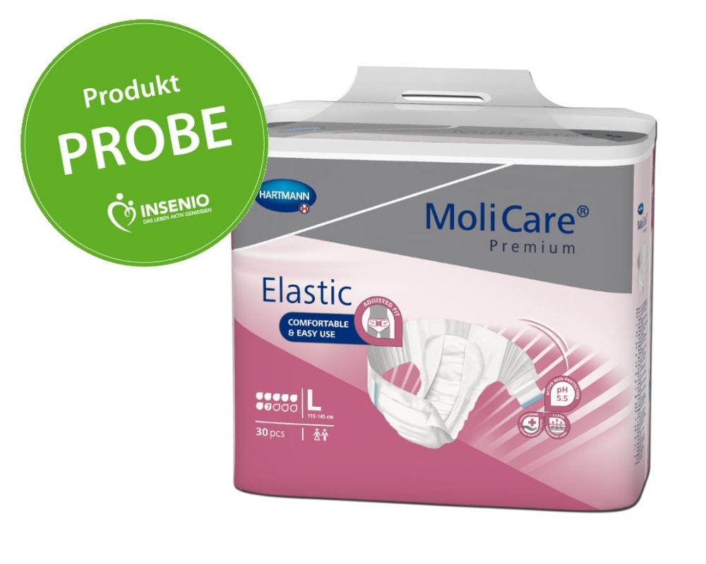 Molicare Premium Elastic 7 Tropfen Probe Muster