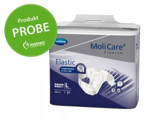 Molicare Premium Elastic 9 Tropfen Probe Muster