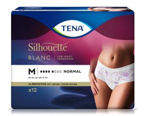 TENA Silhouette Normal Blanc M