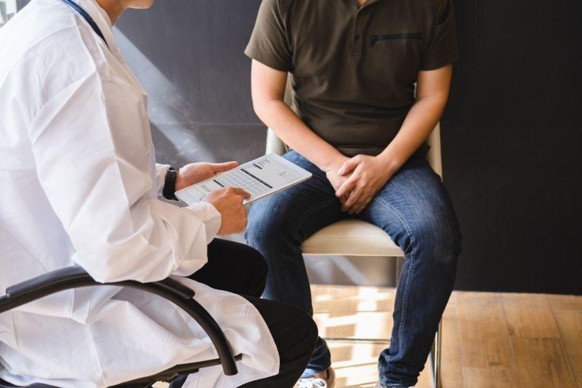 prostata schmerzen beim sitzen